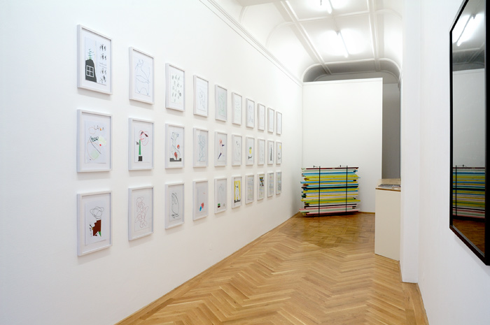 Claudia Annette Maier . Exhibition view | Eines Tages, 2011