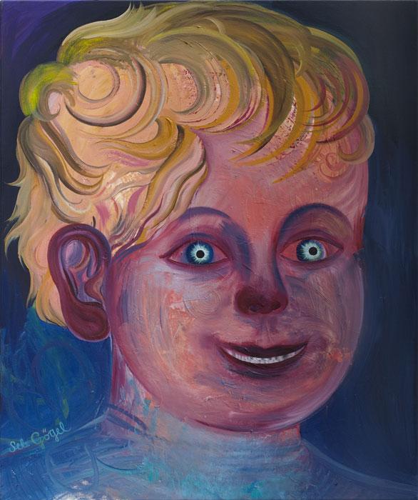 Sebastian Gögel . Dimension, 2012, Öl auf Leinwand, 120 x 100 cm