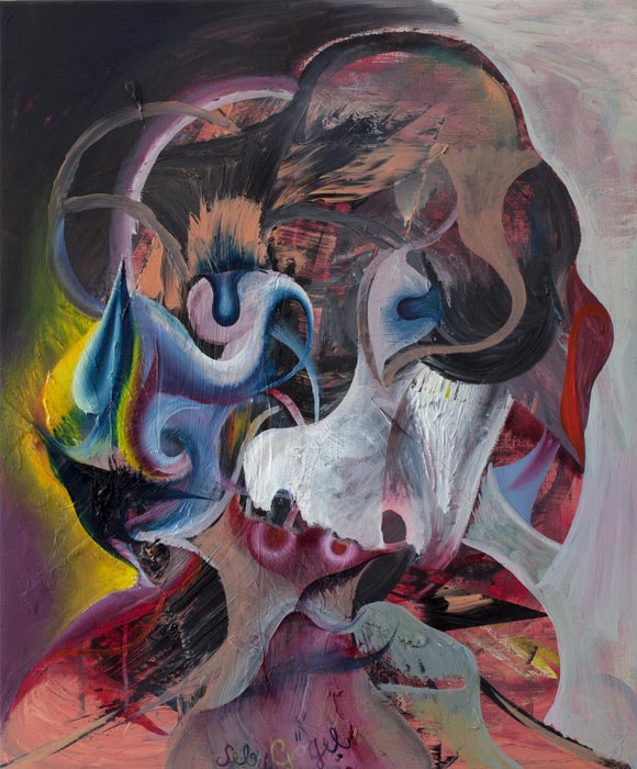 Sebastian Goegel . Verwandlung, 2012, oil on canvas, 60 x 50 cm