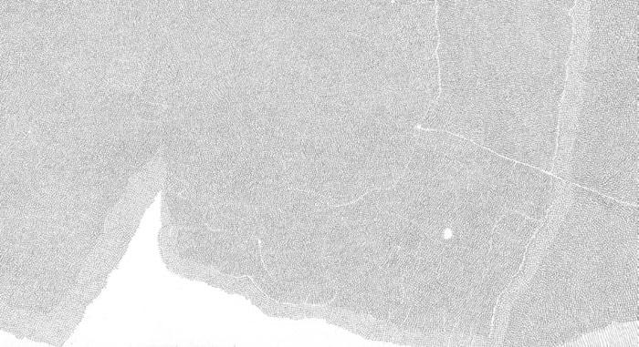 Sebastian Rug . ohne Titel (04-2013), 2013, Bleistift auf Papier, 21,0 x 29,6 cm (Detail)