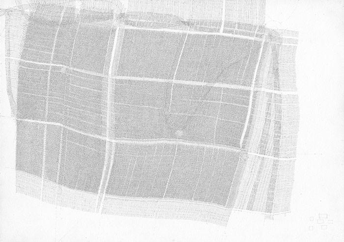 Sebastian Rug . ohne Titel (07-2013), 2013, Bleistift auf Papier, 21,0 x 29,7 cm