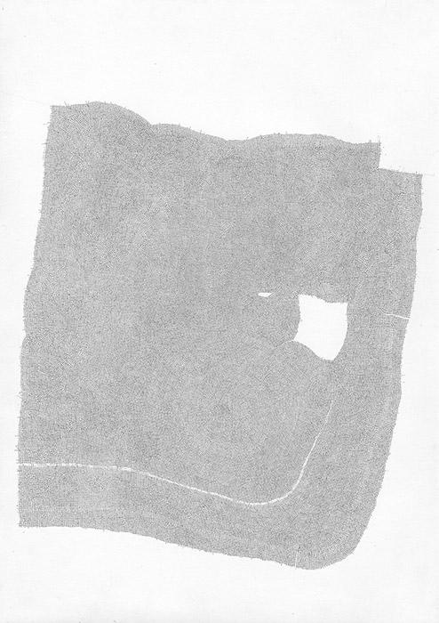 Sebastian Rug . ohne Titel (14-2013), 2013, Bleistift auf Papier, 29,7 x 21,0 cm