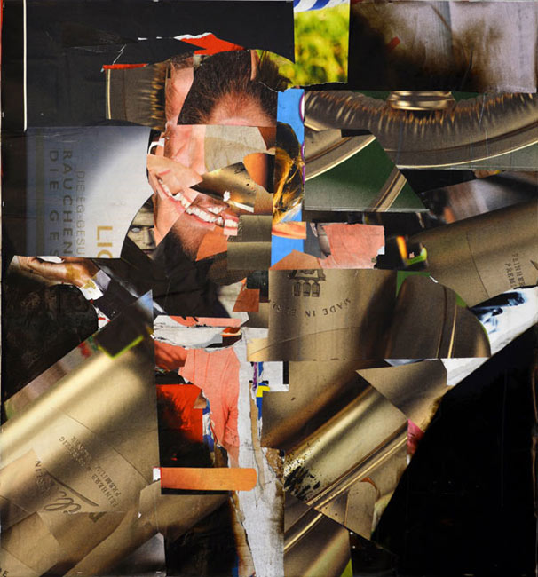Theo Boettger . Sign up, 2013, collage, 120 x 110 cm . Courtesy Galerie Baer & Galerie Emmanuel Post