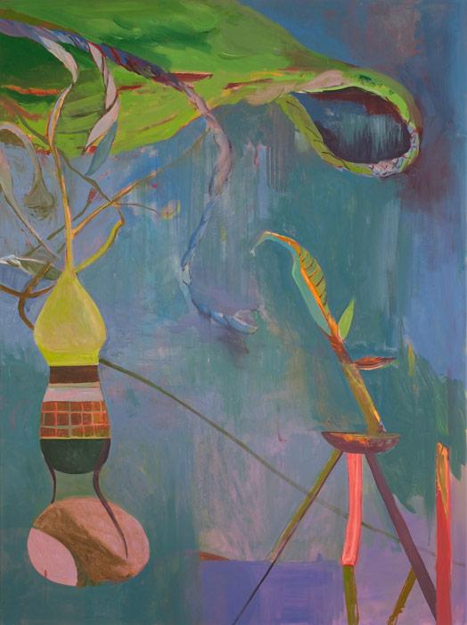 Victor Berezovsky . Hook, 2013, oil on linen, 160 x 120 cm